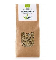 Vitiv Hennepzaad 250 gram | € 6.33 | Superfoodstore.nl