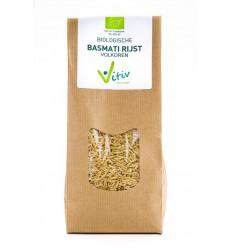 Vitiv Basmati rijst volkoren 500 gram   € 3.50   Superfoodstore.nl