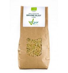 Vitiv Rijst bruin lang 1 kg   € 5.61   Superfoodstore.nl