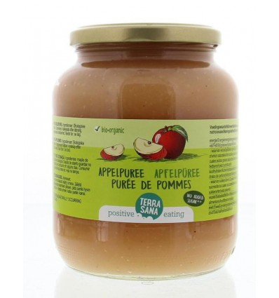 Terrasana Appelpuree 700 gram | € 1.88 | Superfoodstore.nl