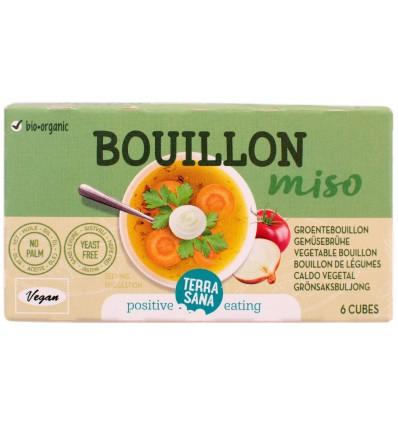 Terrasana Groente bouillon blokjes gistvrij 64 gram | € 1.38 | Superfoodstore.nl