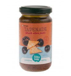 Terrasana Tapenade zwarte olijven 180 gram | € 3.74 | Superfoodstore.nl