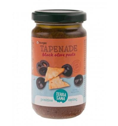 Terrasana Tapenade zwarte olijven 180 gram