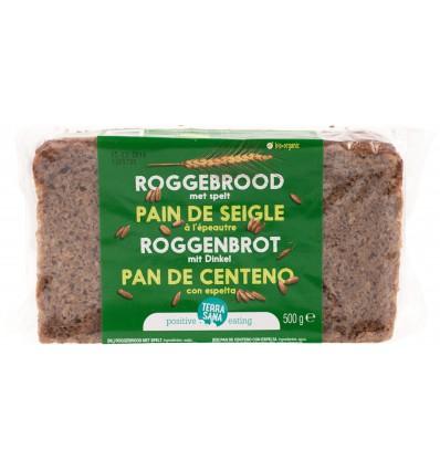 Terrasana Roggebrood met spelt 500 gram