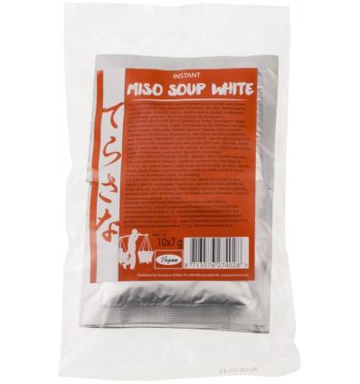 Terrasana Instant miso soep wit 7 gram 10 stuks | € 5.18 | Superfoodstore.nl