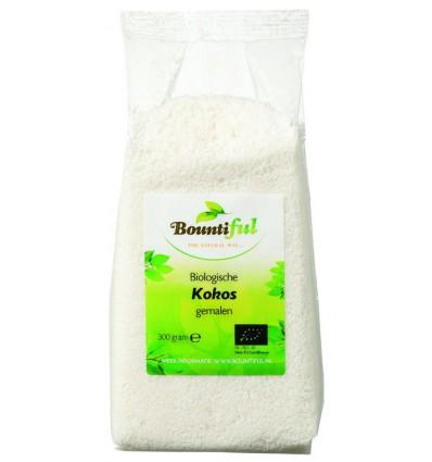 Bountiful Kokos gemalen bio 300 gram   € 3.29   Superfoodstore.nl