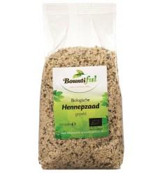 Bountiful Hennepzaad bio 500 gram | € 11.03 | Superfoodstore.nl