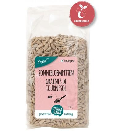 Terrasana RAW Zonnebloempitten 250 gram | € 1.52 | Superfoodstore.nl