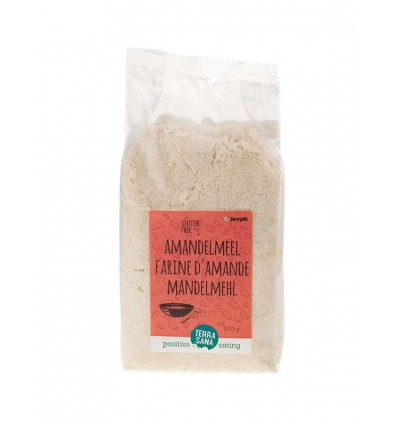 Terrasana Amandelmeel 500 gram | € 12.56 | Superfoodstore.nl