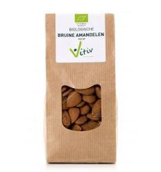 Vitiv Amandelen met vlies 500 gram | € 14.51 | Superfoodstore.nl