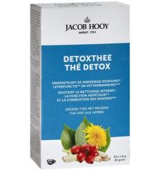 Jacob Hooy Detox theezakjes 50 zakjes | € 4.56 | Superfoodstore.nl