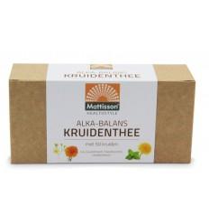 Mattisson Alkabalans kruidenthee ontzuren 25 zakjes   € 8.66   Superfoodstore.nl