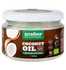 Purasana Kokosolie extra virgin bio 250 ml   € 5.63   Superfoodstore.nl