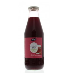 Idyl Cranberrysap ongezoet 750 ml | € 6.71 | Superfoodstore.nl