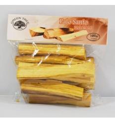 Green Tree Palo santo heilig hout stokjes 100 gram | € 9.68 | Superfoodstore.nl