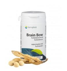 Springfield Brain bow 60 softgels | € 29.89 | Superfoodstore.nl
