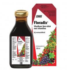 Salus Floradix ijzer elixer 500 ml | € 21.99 | Superfoodstore.nl