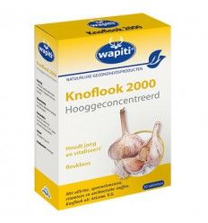 Wapiti Knoflook 2000 30 tabletten | € 11.27 | Superfoodstore.nl