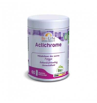 Be-Life Actichrome 60 softgels kopen