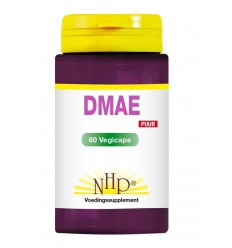 NHP DMAE 350 mg puur 60 vcaps | € 24.22 | Superfoodstore.nl