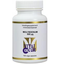 Vital Cell Life Molybdenum 500 mcg 100 capsules | € 13.15 | Superfoodstore.nl