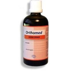 Orthomed Derm drain 100 ml | € 15.85 | Superfoodstore.nl