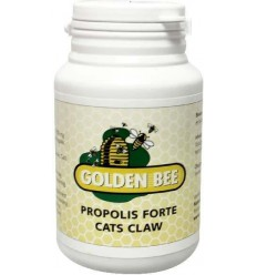 Golden Bee Propolis/cats claw forte 60 tabletten   € 26.49   Superfoodstore.nl