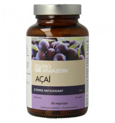Rio Amazon Acai 60 capsules | € 13.19 | Superfoodstore.nl