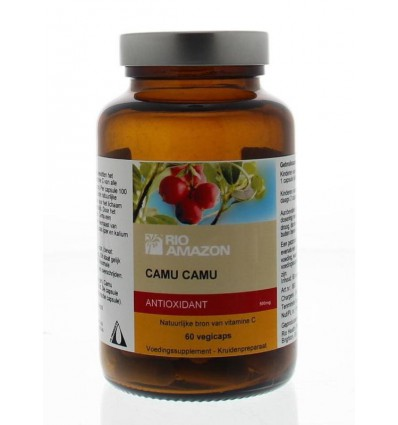 Rio Amazon Camu camu 60 capsules | € 13.19 | Superfoodstore.nl