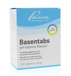 Pascoe Basentabs 100 tabletten | € 13.02 | Superfoodstore.nl