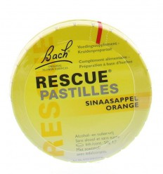 Bach Rescue pastilles sinaasappel 50 gram | € 8.35 | Superfoodstore.nl