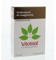Vitotaal Zoethoutwortel 45 capsules | € 8.27 | Superfoodstore.nl