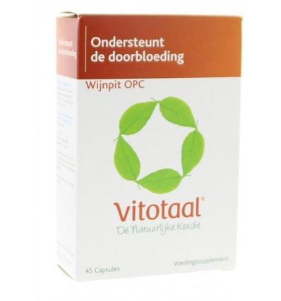 Vitotaal Wijnpit OPC 45 capsules | € 13.49 | Superfoodstore.nl