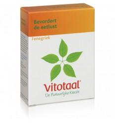 Vitotaal Fenegriek 45 capsules | € 8.27 | Superfoodstore.nl