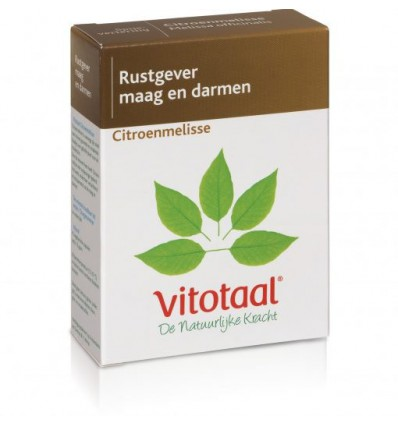 Vitotaal Citroenmelisse 45 capsules | € 9.14 | Superfoodstore.nl