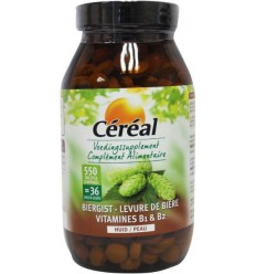 Cereal Biergist 220 gram 550 tabletten | € 11.09 | Superfoodstore.nl