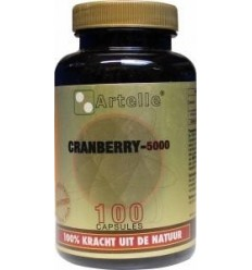 Artelle Cranberry 5000 mg 100 capsules | € 11.46 | Superfoodstore.nl