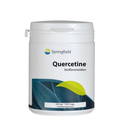 Springfield Quercetine 250 mg 120 vcaps | € 17.75 | Superfoodstore.nl