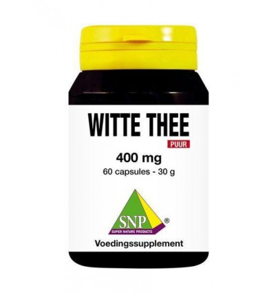 SNP Witte thee 400 mg puur 60 capsules | € 20.79 | Superfoodstore.nl