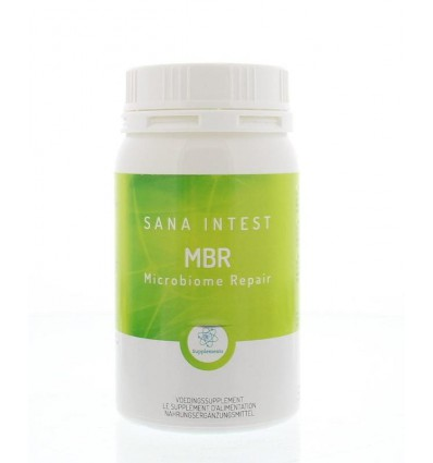 Sana Intest MBR microbiome repair 135 capsules | € 52.33 | Superfoodstore.nl
