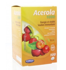 Orthonat Acerola 1000 100 tabletten | € 26.17 | Superfoodstore.nl