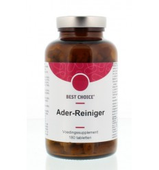 Best Choice Ader reiniger 180 tabletten | € 34.75 | Superfoodstore.nl