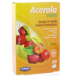 Orthonat Acerola 1000 mg 30 tabletten | € 9.25 | Superfoodstore.nl