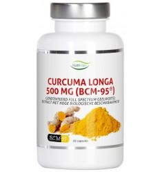 Nutrivian Curcuma longa 500 mg bcm95 60 capsules | € 26.69 | Superfoodstore.nl