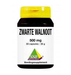 SNP Zwarte walnoot 500 mg 60 capsules | € 15.45 | Superfoodstore.nl