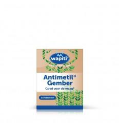 Wapiti Antimetil gember 30 tabletten | € 8.51 | Superfoodstore.nl