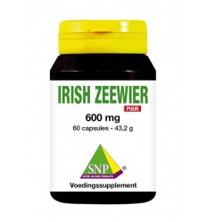 SNP Irish zeewier 600 mg puur 60 capsules | € 41.96 | Superfoodstore.nl
