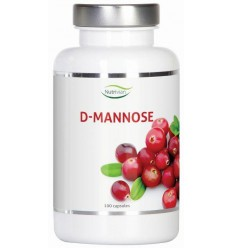 Nutrivian D-Mannose 500 mg 100 capsules | € 23.25 | Superfoodstore.nl
