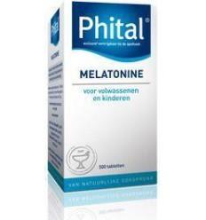 Phital Melatonine 0.1 mg 500 tabletten | € 11.84 | Superfoodstore.nl