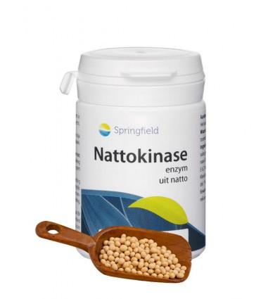 Springfield Nattokinase 90 softgels   € 29.89   Superfoodstore.nl